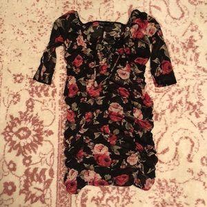Fashion to Figure Rose Mesh Dress